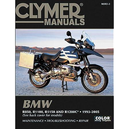 Amazon.com: Clymer Repair Manual for BMW R850 R1100 R1150 R1200C 93-05:  Automotive | Bmw R850r Wiring Diagram |  | Amazon.com