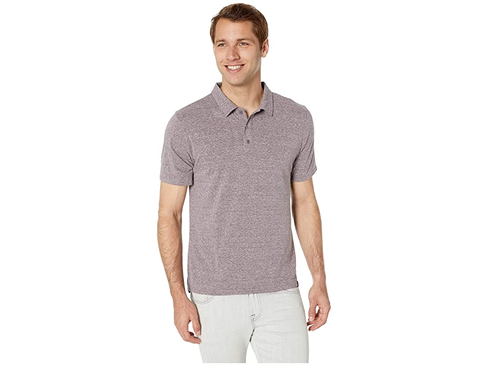 Image of Threads 4 Thought Tri-Blend Baseline Polo (Dark Plum) Men's Clothing