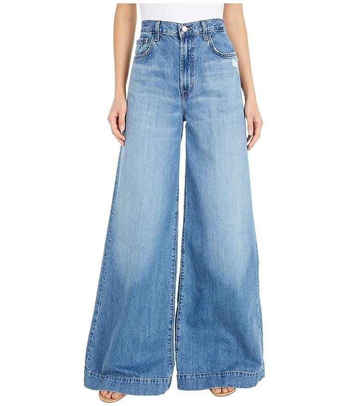 70s Clothes | Hippie Clothes & Outfits J Brand Thelma High-Rise Super Wide Leg in Senska Raze Senska Raze Womens Jeans $154.99 AT vintagedancer.com