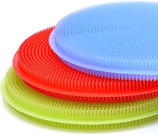 SimplyNonSlip Silicone Sponge and Scrubber   Silicone Kitchen Sponge for Dishes and Cleaning   Dishwasher Safe