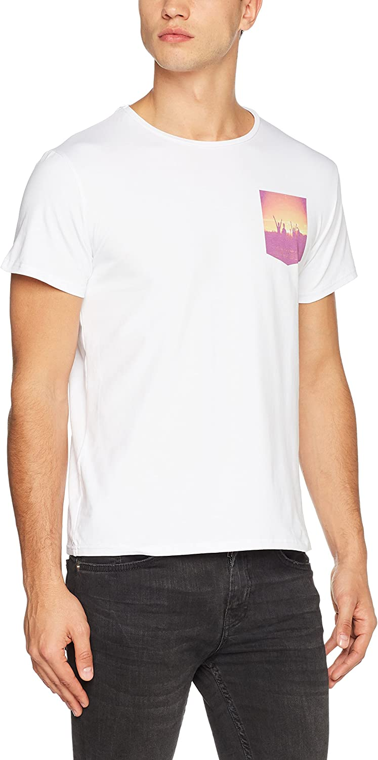 Frenchcool Herren T-Shirt Sunrise B01MSVP4HG  Modisch