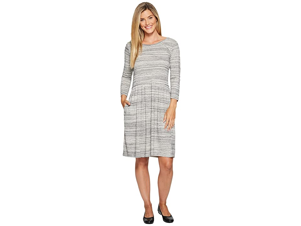 Toad&Co Imogene 3/4 Dress (Egret) Women
