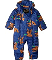 mini rodini - Ducks insulator Overall (Infant)