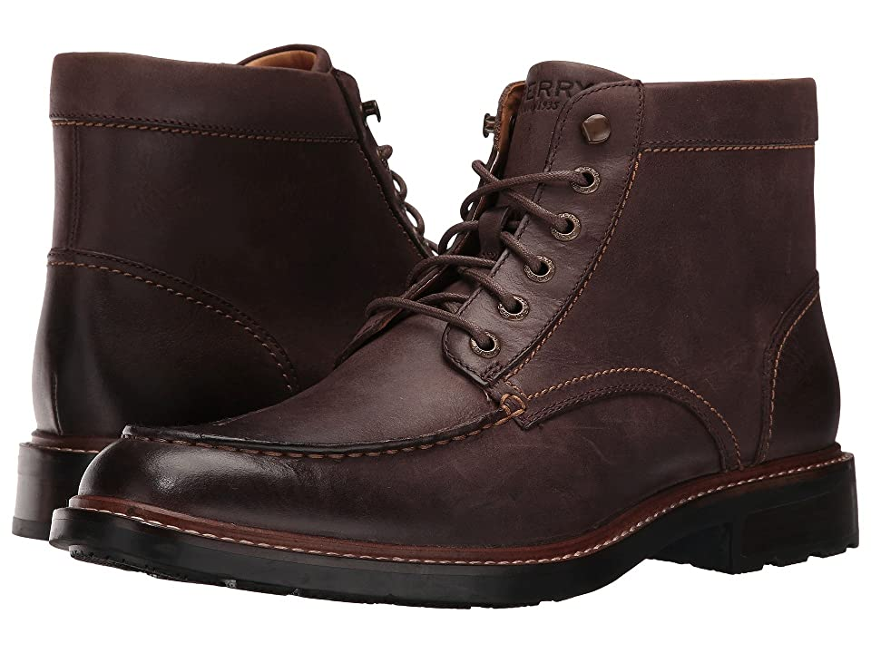 Sperry Gold Annapolis Boot (Brown) Men