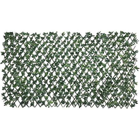 Garden Size 39x20 ECOOPTS Aritificial Ivy Fence Wall D/écor Faux Ivy Expandable//Stretchable Privacy Fence Screen Plant Leaves and Vine Decoration for Home Yard