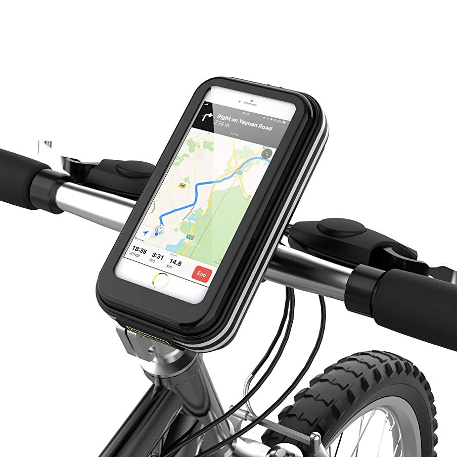 lovicool Bike Phone Case Cycling Phone Bag Phone Holder Road Mountain Bike Holder Bicycle Bag with Waterproof Sensitive Touch Screen Phone Case Below 6.2 inch[Enhanced Version 2018] a1716370756