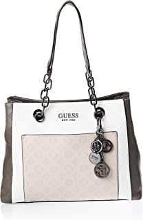 Guess Tote Bag for Women- Stone