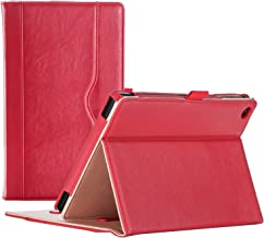 ProCase Amazon Fire HD 8 Case (6th, 7th and 8th Generation Tablets, 2016, 2017 and 2018 Releases), Stand Folio Folding Protective Cover for Fire HD 8 Tablet (6th Gen, 7th Gen, 8th Gen) -Red