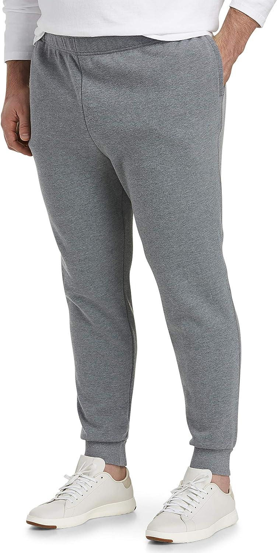 Amazon Essentials Men's Big & Tall Fleece Jogger Pant