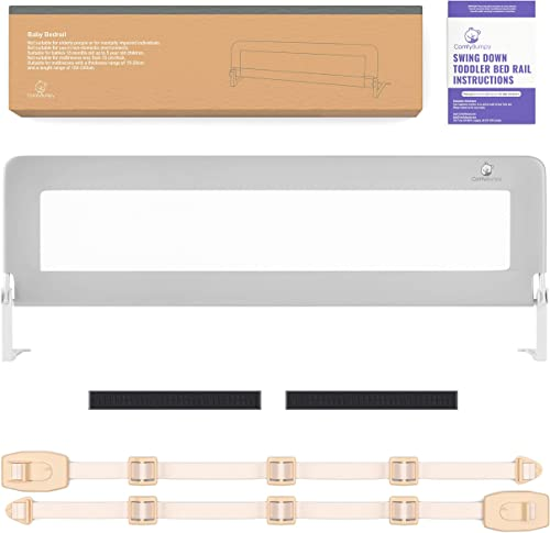 Bed Rails for Toddlers - Extra Long Toddler Bed Rail Guard for Kids Twin, Double, Full Size Queen & King Mattress - B...
