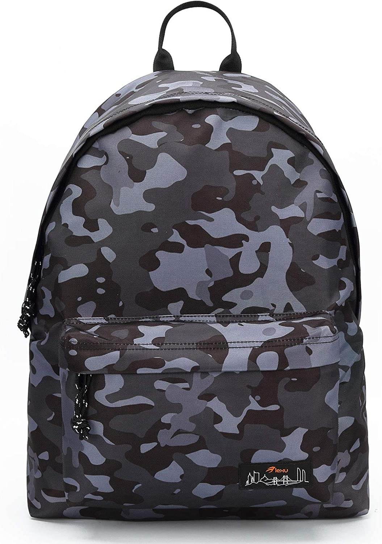 School Backpack for Girls Boys Fashion School College Student Bag Bookbag Outdoor Rucksack Casual Women Men Daypack (Camo2)
