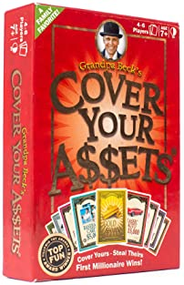 Grandpa Beck's Cover Your Assets Card Game | Fun Family-Friendly Set-Collecting Game | Enjoyed by Kids, Teens, and Ad...