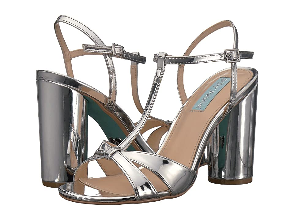 Blue by Betsey Johnson Luisa (Silver Foil) High Heels