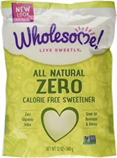Wholesome Sweeteners Organic Zero,  12 oz, 2 Count