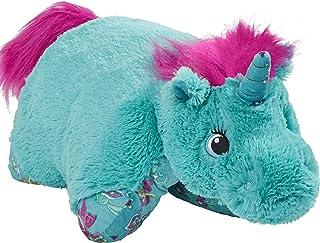 "Pillow Pets Colorful Teal Unicorn - 18"" Stuffed Animal Plush Toy"