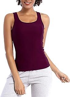 BUBBLELIME Tank Tops for Women Yoga Workout Racerback Top Activewear Super Soft