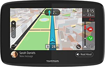 TomTom Go 52 5 Inch GPS Navigation Device with Wi-Fi, Real Time Traffic, Free Maps of North America, Siri and Google Now C...