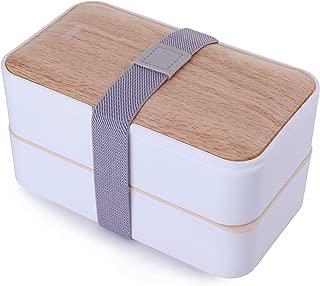 MERCIER Leak Proof Premium Bento Lunch Box with Cutlery Set