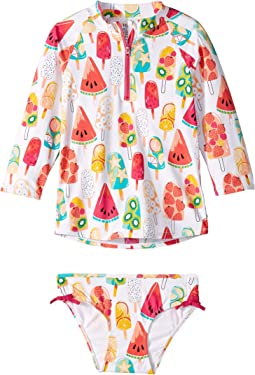 Fruity Popsicles Rashguard Set (Toddler/Little Kids/Big Kids)
