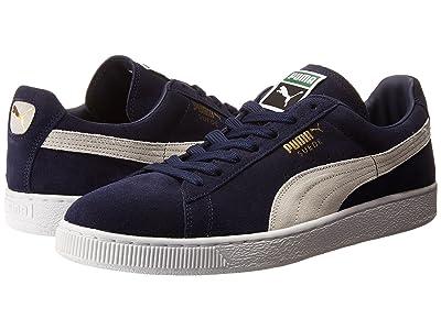 PUMA Suede Classic (Peacoat/White) Shoes