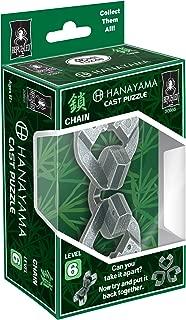 Chain Hanayama Cast Metal Brain Teaser Puzzle (Level 6)