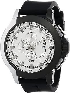 Ritmo Mundo Unisex 1101/8 Black White Quantum Sport Quartz Chronograph Aluminum Accents Watch