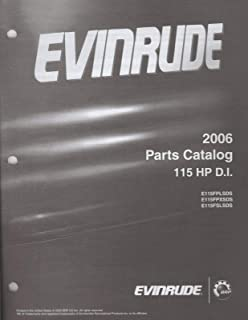 2006 EVINRUDE OUTBOARD 115 HP D.I. ( see cover list) PARTS MANUAL (252)