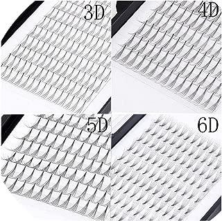 3D 4D 5D 6D Volume Fans Extension Professional Cils Volume Eyelashes Russian Volume Eyelash Extensions,C,0.07mm,8mm,2D