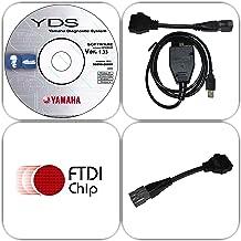 moto-solution Yamaha YDS Boat Marine Diagnostic USB Cable Kit for Outboard/WaveRunner/Jet Boat