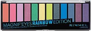 Rimmel London Magnif'Eyes Eyeshadow Palette, Rainbow Edition
