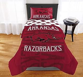 The Northwest Company NCAA Arkansas Razorbacks Affiliation Twin XL Comforter Set #546143707