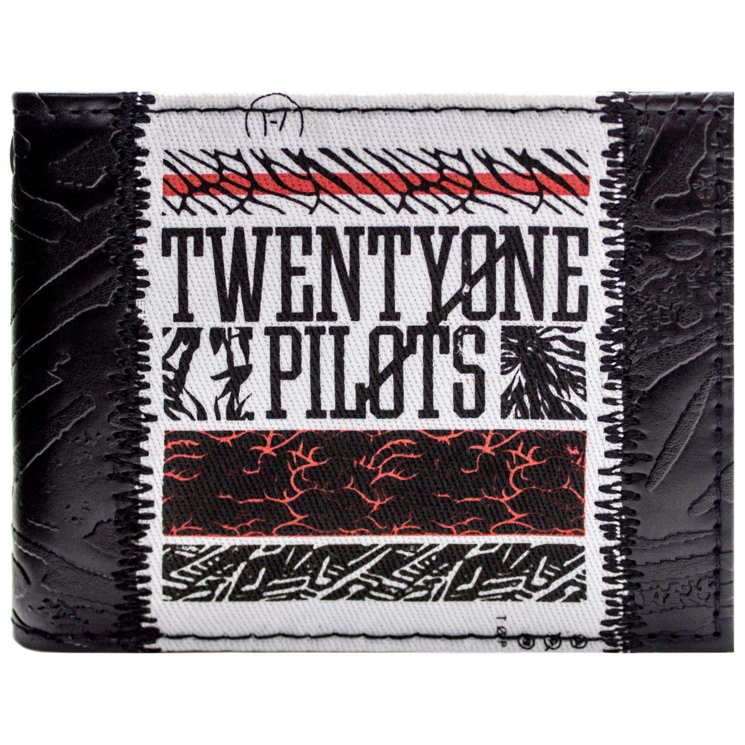 Official Twenty One Pilots Blurryface Band Black Id /& Card Wallet *SECOND*