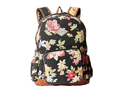 Billabong Home Abroad Backpack (Black/Olive) Backpack Bags