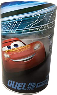 Kids Coin (Money) Bank - Disney Cars - Lightning McQueen - Storm 2.0 - Duel for The Piston Cup