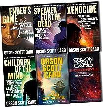 Orson Scott Card Ender Wiggin Saga 6 Books Collection Pack Set (1-Ender's Game, 2- Speaker For The Dead, 3- Xenocide, 4- Children Of The Mind, 5-A War of Gifts, 6-Ender in Exile)