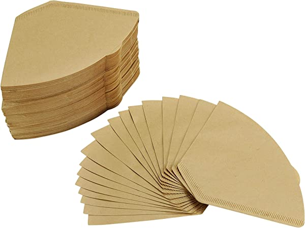 4 Cone Coffee Filters Natural Unbleached 300