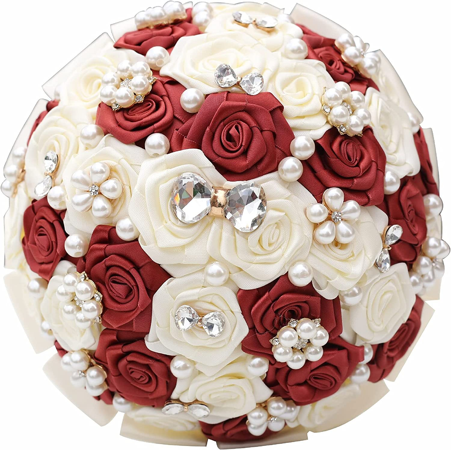 Max 68% OFF Artificial Max 42% OFF and Dried Style Wedding Bridal Bridesmaid Bouquet Flo