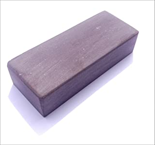 Belgischer Brocken piedra afiladora azul 75x30 mm. Piedra de afilar finamente para cuchillas, instrumentos quirúrgicos, maquinillas de afeitar