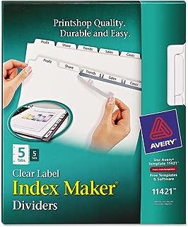 Best copier tabs template Reviews