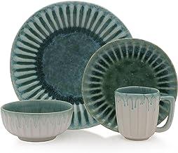 Mikasa 5212157 Monterey Place Dinnerware Set, Green