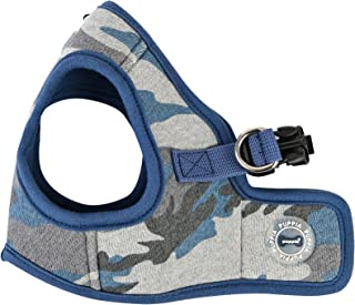 "Puppia ""B"" Ensign Harness, Large, Blue Camo"