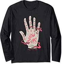 Every Time I Die- Palmreader - Official Merchandise Long Sleeve T-Shirt
