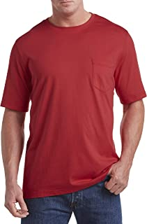 by DXL Big and Tall Moisture-Wicking Pocket T-Shirt