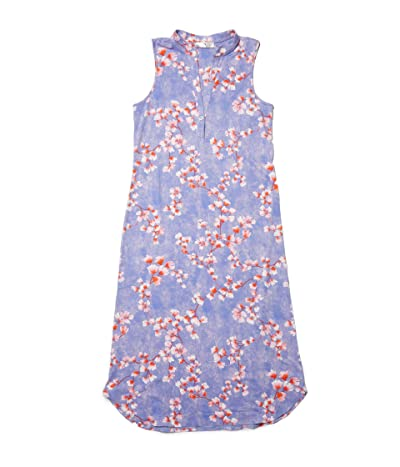 N by Natori Cherry Blossom Gown (Sky Violet Combo) Women