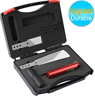 Poweka Windshield Removal Tool Kit,Auto Glass Repair Kit Car Windscreen Cold Knife Quick Release Remove Tool Set