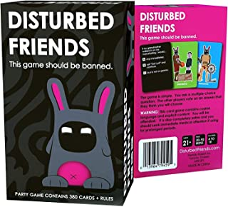 Disturbed Friends (A Party game)