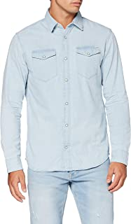 Jack & Jones Men's Jjesheridan Shirt L/S Noos Denim Shirt