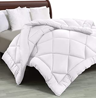 Utopia Bedding - All Season Quilted Duvet Insert - Goose Down Alternative Comforter - Twin/Twin XL - White