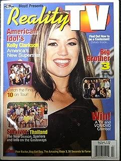 Kelly Clarkson Simon Cowell Abdul Signed Autographed Magazine American Idol GA
