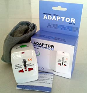 Smart Pro All in One World Travel Adapter for AU/EU/UK/US
